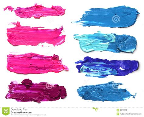 how to paint acrylic without brush strokes abstract acrylic brush strokes stock image image of