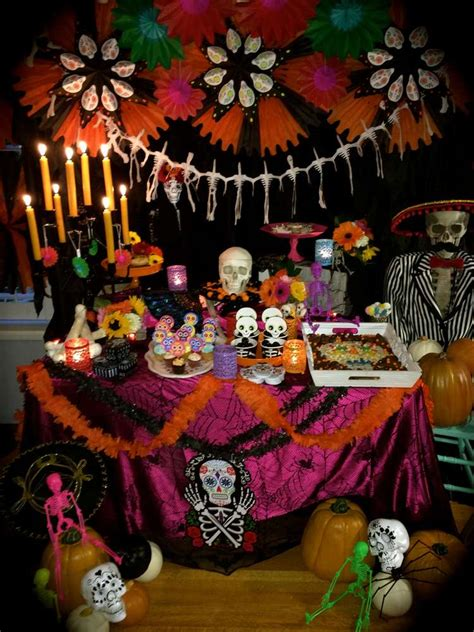 day of the dead bedroom ideas day of the dead halloween party ideas photo 5 of 18 catch my party