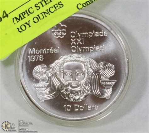 1 troy ounce sterling silver price 1976 olympic sterling silver 1 4453 troy ounces kastner