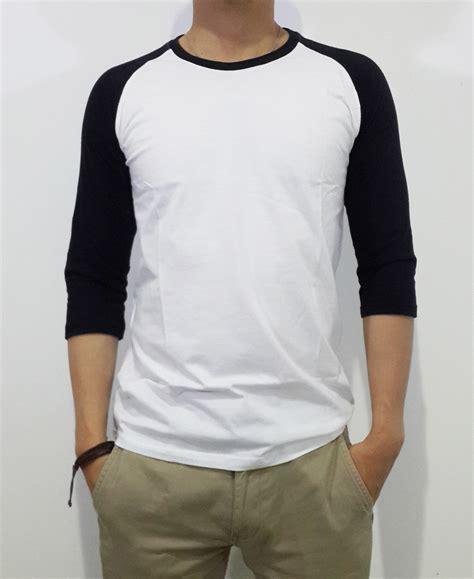 Polo Shirt Polos Kaos Polos Pique Cotton Pique kaos raglan polos kaos 3 4 raglan sleeve