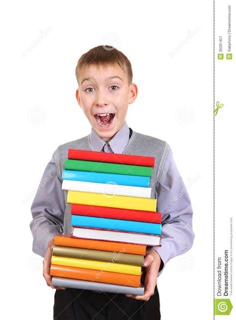 thumbs up my brown boy books boy holding pile of the books royalty free stock