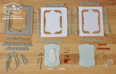 label design tutorial the dining room drawers elizabeth craft designs snowman