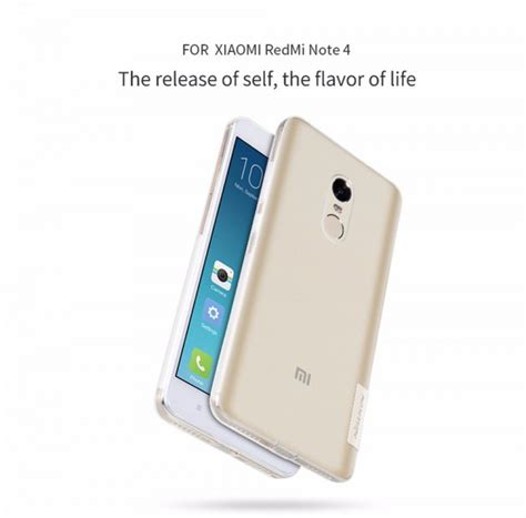 Nillkin Nature Tpu For Xiaomi Redmi Note 4 Mediatek Nnsc3jtp nillkin silicone nature tpu for xiaomi redmi note 4