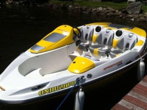 sea doo bombardier boat sea doo bombardier speedster in m 225 laga speedboats used