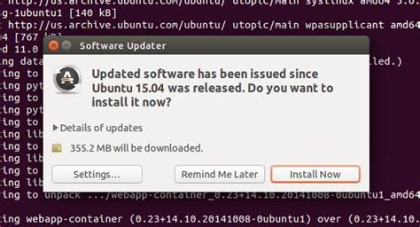 ubuntu manually check for updates 11 things to do after installing ubuntu 15 04 vivid vervet