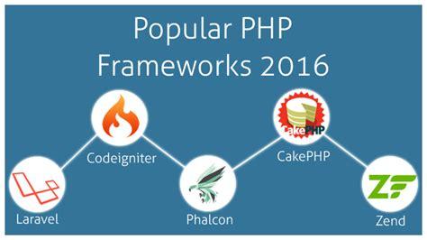 php framework best choose the popular php development framework