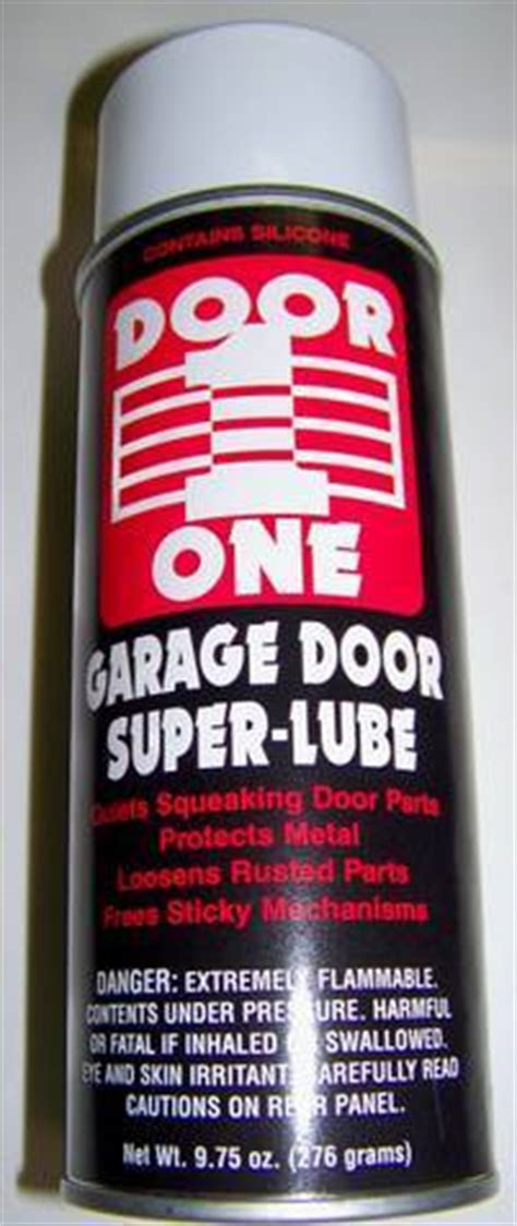 What Of Grease For Garage Door by Garage Door Lubricant