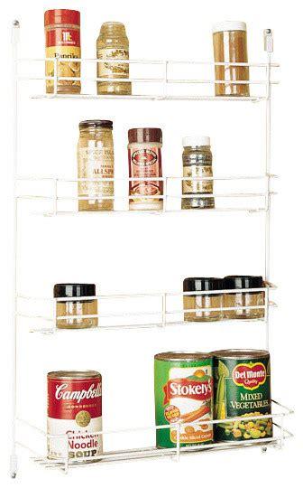 Cabinet Door Spice Rack Wire Rev A Shelf 565 8 52 8 Quot Door Mount Spice Rack White Wire