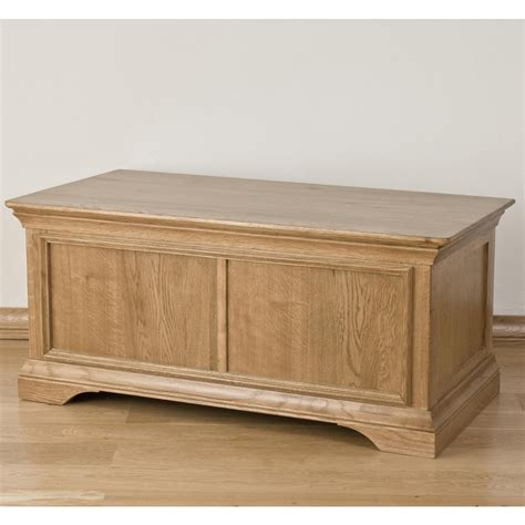 Bedroom Trunk Storage by Lourdes Solid Oak Furniture Bedroom Blanket Storage