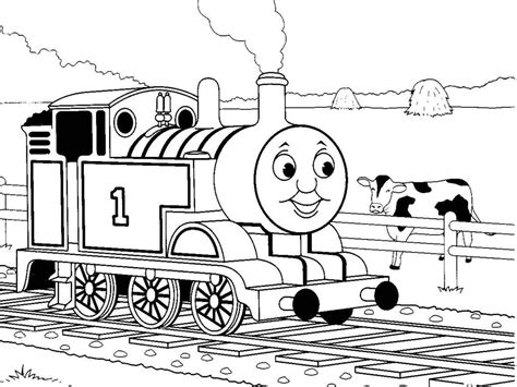 large coloring pages of thomas the train 13 printable thomas the train coloring pages print color