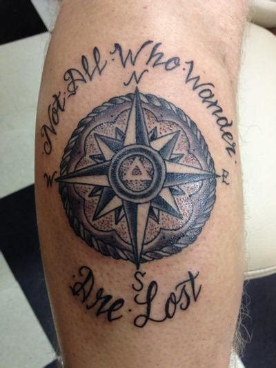 not all who wander are lost tattoo 14 tolkien inspired tattoos artists