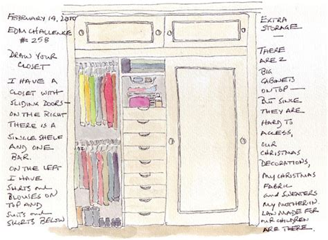 How To Draw A Closet by Drawing Of Closet