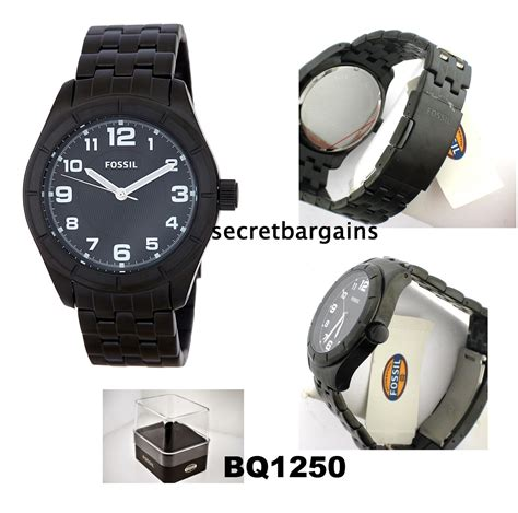 Jam Fossil Bq 1006 Black my loss is your gain fossil stainless steel s