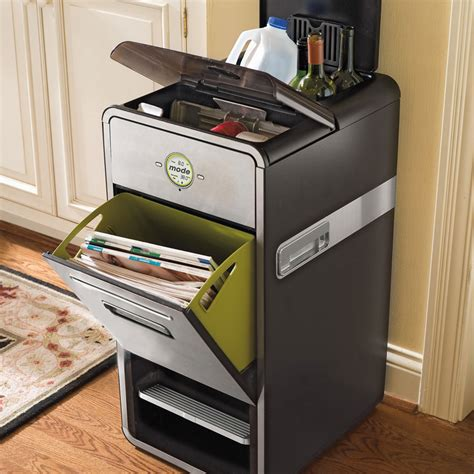 trash compactors for home mode all in one home recycling system with mechanical