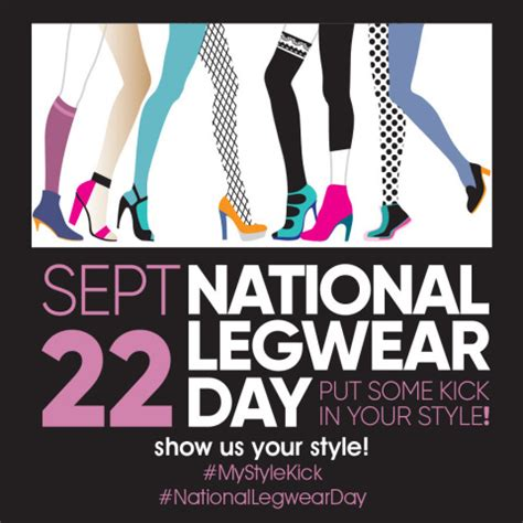 National Wear Day Fall In With Your by National Legwear Day Kicks Fall Season