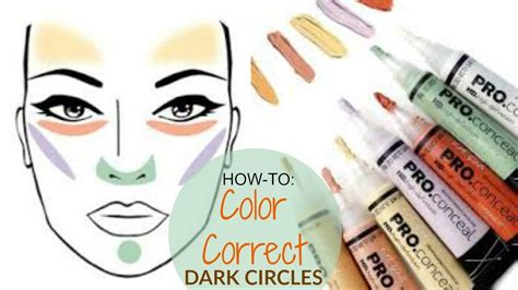 how to color correct how to color correct for beginners hide circles