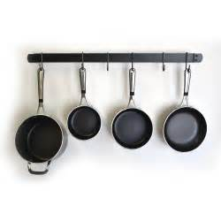 Kitchen Pot Pan Hanger J J Wire Wall Pot And Pan Rack Pot Racks At Hayneedle