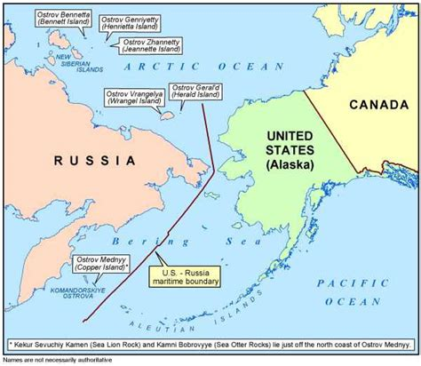 america russia map ussr usa maritime boundary agreement