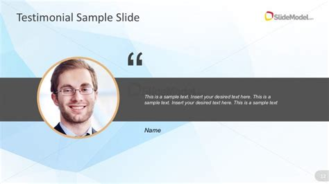 Testimonials From Lovely Customers 2 testimonial powerpoint slide template slidemodel