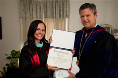 Mba At Liberty by Graduate Gets Degree And A Personal Visit From The