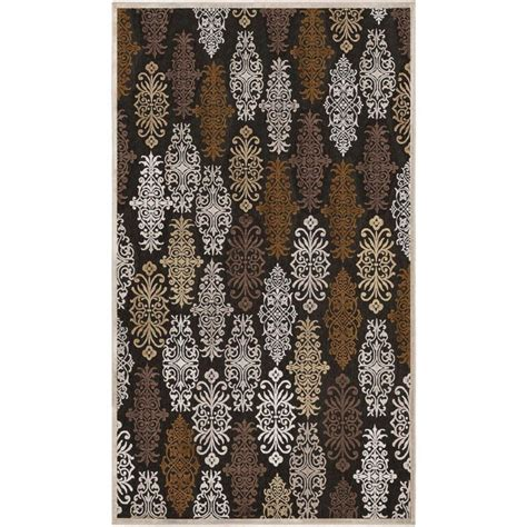 Viscose And Chenille Rugs by Artistic Weavers Cynthia Chocolate Viscose Chenille 8