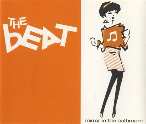 the beat mirror in the bathroom uk cd single cd5 5