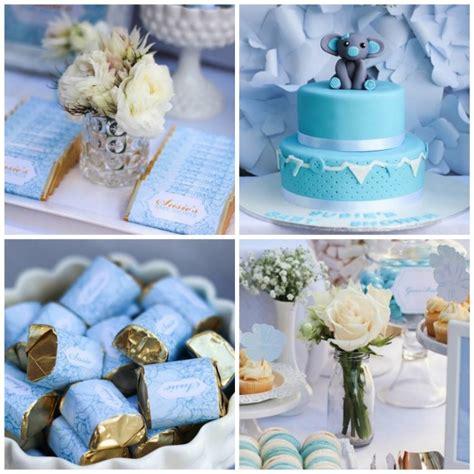 Baby Shower Blue by Kara S Ideas Blue Gold Baby Shower