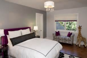 Gray And Purple Bedroom Ideas Purple And Gray Bedroom Design Ideas