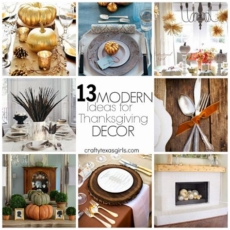 Modern Thanksgiving Decor by Crafty 13 Ideas For Modern Thanksgiving Decor