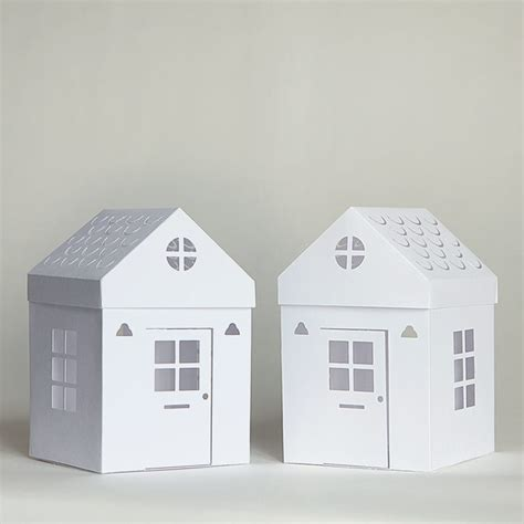 House With Paper - tea light paper houses with free templates and cut files