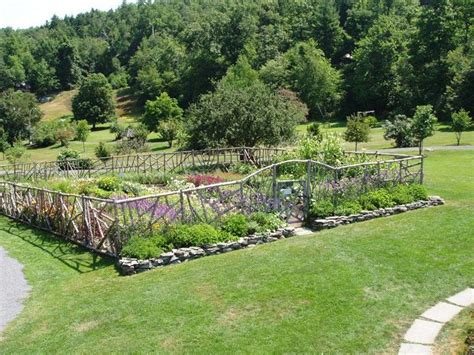 two men and a little farm inspiration thursday hobbit style garden fence