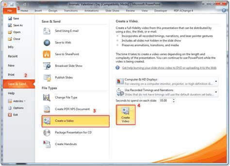 video file format supported by powerpoint 2007 how to convert powerpoint 2010 to video more than wmv format