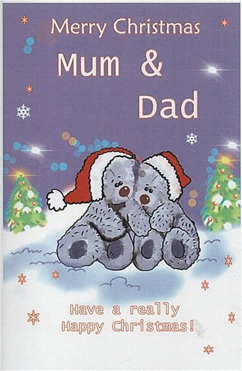 family christmas cards merry christmas mum dad