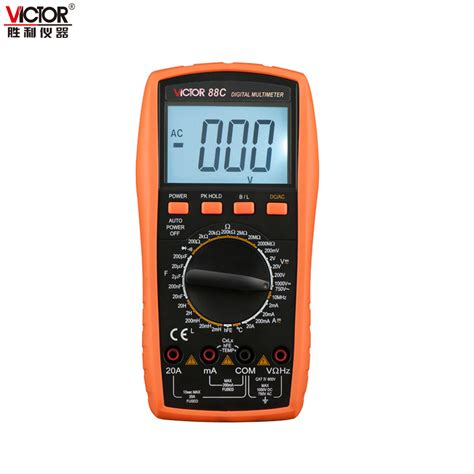 Multimeter Victor victor vc88c multimeter professional manual range 2000