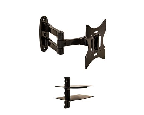 Tv Swivel Wall Mount With Shelf by Articulating Wall Mount Cantilever Swivel Lcd Tv Led 17 21