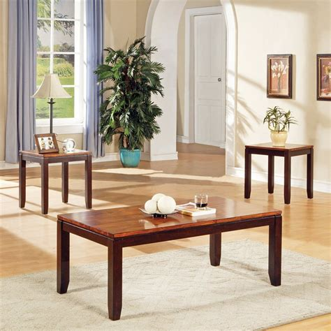 accent table set shop steve silver company abaco 3 piece acacia accent