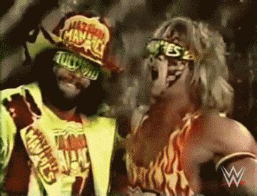 Ultimate Warrior Meme - wwe gifs find share on giphy