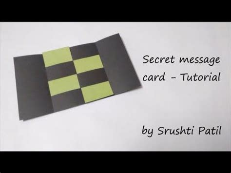 how to make a secret message card 25 best ideas about never ending card on card