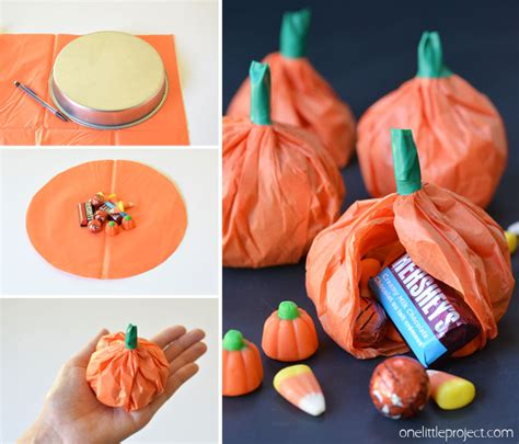 How To Make A Pumpkin Out Of Paper - lolly pop ghosts