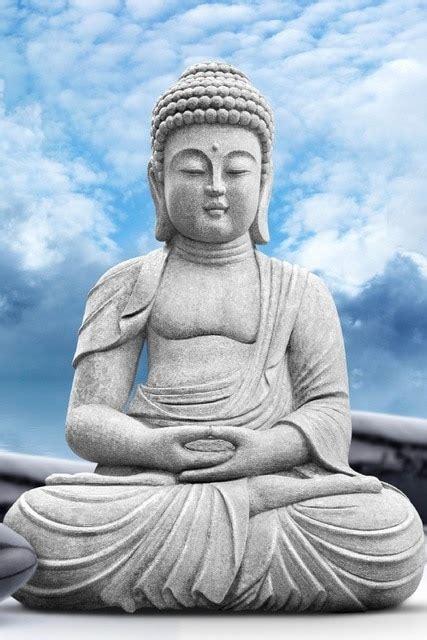 lord buddha statue diy frame art posters print canvas silk