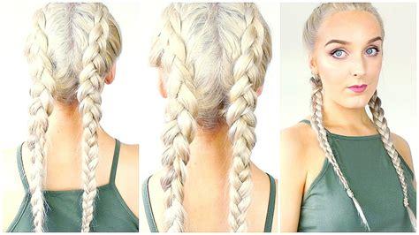 dutch braid   hair  beginners youtube