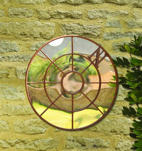 Compass Gardens by Nautical Compass Garden Mirror By Garden Selections