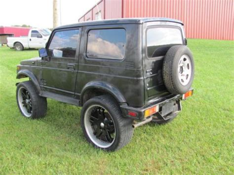 automobile air conditioning service 1992 suzuki samurai windshield wipe control find used 1988 suzuki samurai black 4x4 2 door hard top in lily kentucky united states