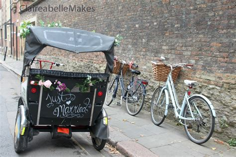 Rickshaw Weddings in Cambridge   Lucinda Price Photography