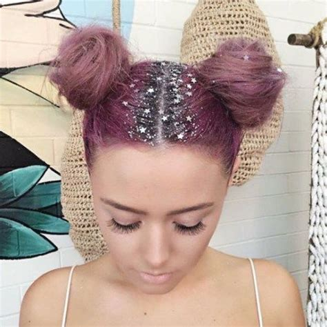 diy hairstyles for christmas glitter no cabelo mermaid hair cabelo rosa pink hair