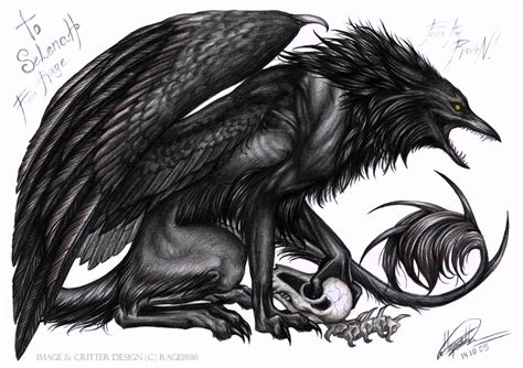 fear the raven by rage1986 on deviantart