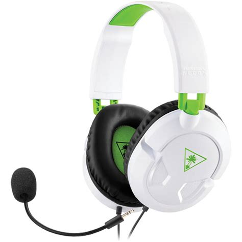 Turtle Headphones For Next Level Gaming by Turtle Recon 50x White Stereo Gaming Headset Ps4