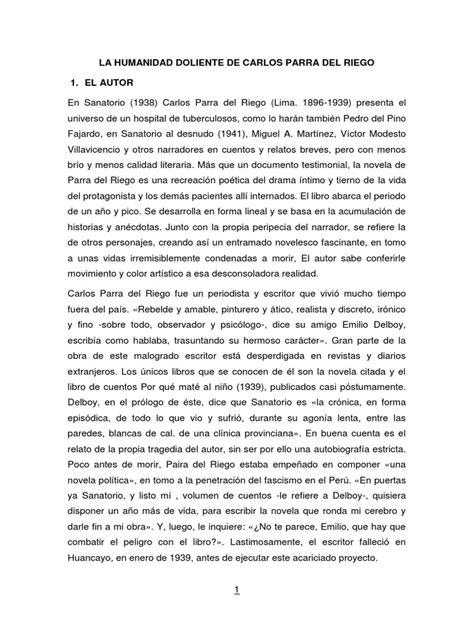 Literatura Regional de Junín | Novelas | Narración