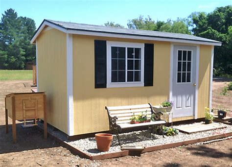 California Custom Sheds california custom sheds 8x16 peak roof package
