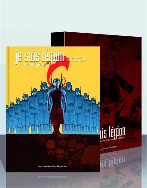 libro je suis le genre 97 int 233 grale sous coffret je suis l 233 gion john cassaday fabien nury fantastique bdnet com